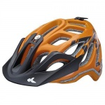 KED Fahrradhelm Trailon M(52-58cm), Orange Black Matt, maxSHELL, Made in Germany