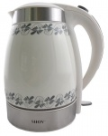 Keramik Design Wasserkocher, 1, 7L, 2200W, mit schicker LED Beleuchtung