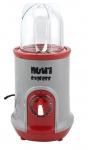 Nutriexpress Granat Smoothie Maker mit !Piranha Messer! Mixer Küchenmaschine Rot