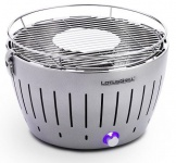 LotusGrill EDELSTAHL Limited der raucharme Holzkohlegrill/Tischgrill farbenfroh