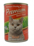 Premium Best Food Katzen Nassfutter mit Rind Geschmack 24x410g, lecker & gesund
