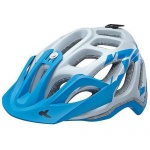KED Fahrradhelm Trailon, L(56-62cm), Pearl Blue Matt, maxSHELL, Made in Germany