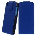 Für Apple iPhone 5C BLAU - Kunstleder Tasche, Handytasche, Case, Hülle, Schutz,