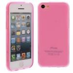 Silikon Case für Apple iPhone 5C Pink Etui Cover Bumper Tasche