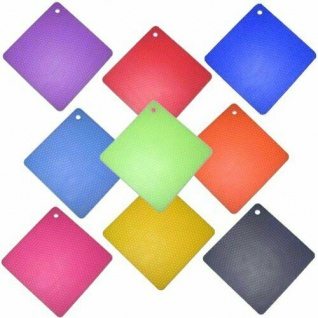 Cookline Silikon Topflappen/Topfuntersetzer, eckig, hitzebeständig, Farbe wählbar
