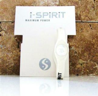 i-spirit Hologramm Armband - Frequenz: Drachen / Dragon Farbe wählbar: Weiß, Size: NEU