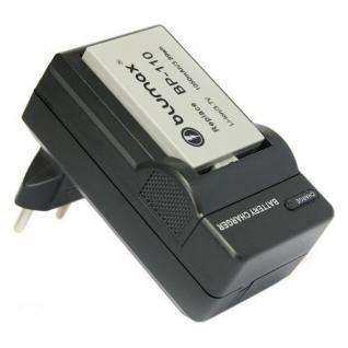 BLUMAX Akku Ladegerät Canon BP-110 BP110 für