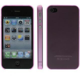 Für Apple iPhone 4/ 4S TPU Case/Cover/Bumper/Hülle/Farbe wählbar