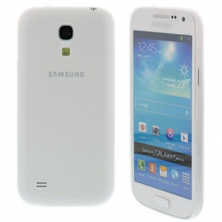 Für Samsung S4 mini /i9190 TPU Case/Cover/Bumper/Hülle + Schutzfolie Farbe wählbar