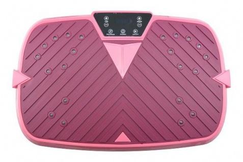 VibroShaper Vibrationsplatte inkl. Power Dehnbänder Farbe wählbar - Kompakt & Klein