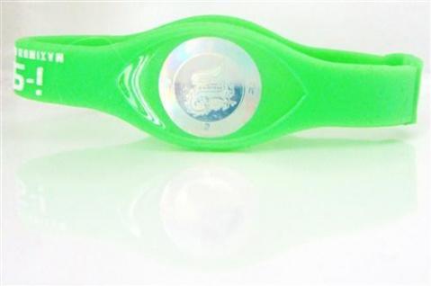i-spirit Hologramm Armband - Frequenz: Drachen (Glück..) Farbe wählbar:Neon Grün,