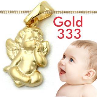 Kinder Engel Anhänger Gold 333