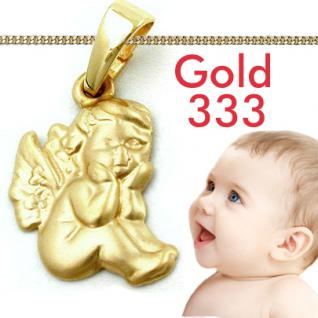Taufe Engel Anhänger Gold 333