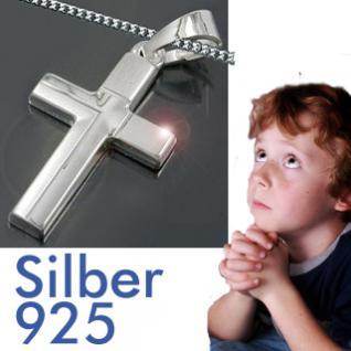 Silber Kreuz Kommunion Kette