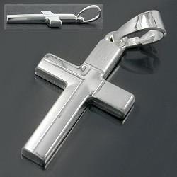 Silber Kreuz Kommunion Kette - Vorschau 2