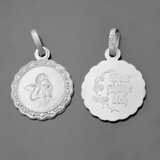 Schutzengel Silber Gott schütze Dich Kette - Vorschau 2