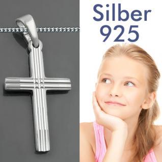 Kinder Kommunion Kreuz Silber