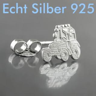 Männer Traktor Schlepper Ohrstecker