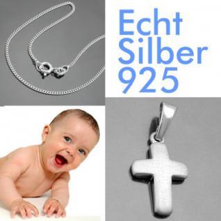 Baby Taufe Kreuz Kette Silber