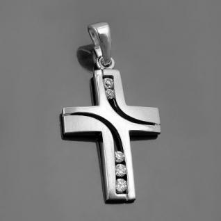 Kinder Kommunion Kreuz Silber - Vorschau 2