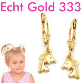 Delfin Ohrringe Gold 333