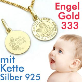 Schutzengel Anhänger Gold 333
