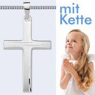 Kommunion Kreuz Silber