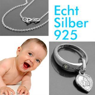 Baby Taufe Taufring Schutzengel Herz