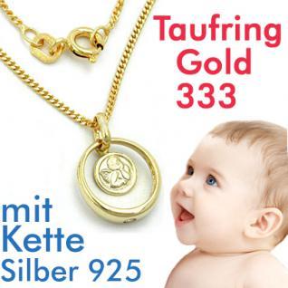 Schutzengel Taufring Gold 333