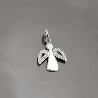Schutz Engel Zirkonia Steine für Kinder Frauen mit Kette Echt Silber 925 wählbar - Vorschau 2