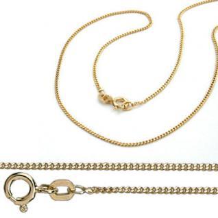 Zirkonia Kinder Baby Schutz Engel Echt Gold 333 und Kette Silber 925 vergoldet - Vorschau 2