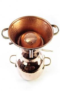 """"""" CopperGarden"""" Destille ALQUITARA 5 Liter, traditionelle Ausführung"""