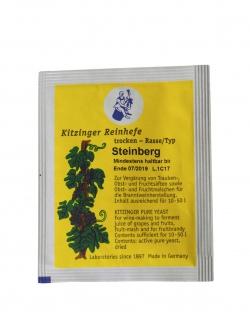 """"""" Arauner"""" Trockenhefe Steinberg 5 Gramm = ausreichend für bis zu 50 Liter - Vorschau 2"""