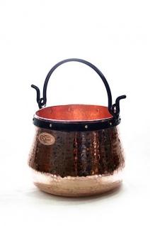 CopperGarden® Kupferkessel ? 20 Liter ? Hexenkessel