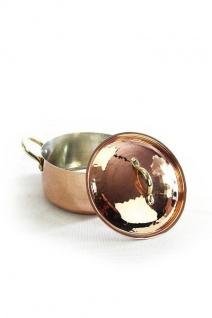 """"""" CopperGarden"""" Kupfertopf 16cm = 1, 5 Liter verzinnt mit Deckel"""