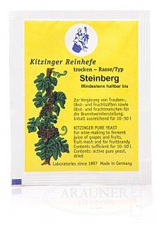 """"""" Arauner"""" Trockenhefe Steinberg 5 Gramm = ausreichend für bis zu 50 Liter - Vorschau 3"""