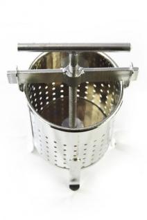 Stabile Spindelpresse ? 5 Liter Volumen ? stabile Metall Ausführung - Vorschau 2