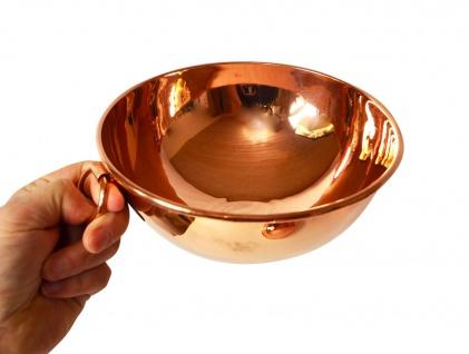 """"""" CopperGarden®"""" Rührschüssel aus Kupfer ? Größe S = Ø 18 cm - Vorschau 3"""