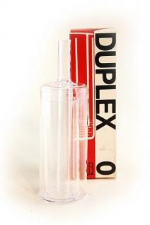 DUPLEX 0 Gärspund 10 mm - 2-tlg. Gärröhrchen / Getränkeschützer - Vorschau 1