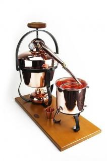 """"""" CopperGarden®"""" Destillieranlage """" Hobby II"""" 2, 5L mit Thermometer - Vorschau 1"""