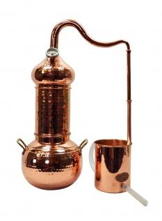 """"""" CopperGarden"""" Destille """" ESSENCE PLUS"""" 2 Liter Kolonnenbrennerei mit Thermometer"""