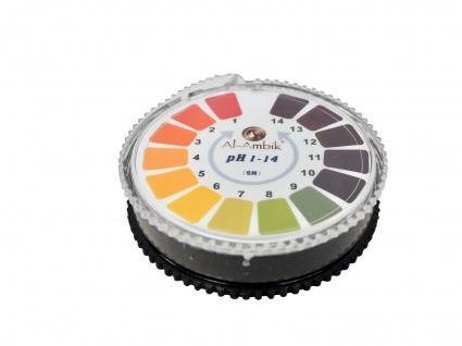 Al-Ambik® PH Indikatorpapier PH 1-14 ? 5 Meter Rolle ? Universal PH-Tester - Vorschau 2