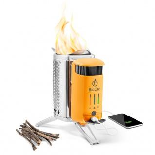 """ BioLite"" CampStove II USB Holz-Kocher"
