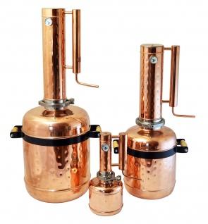 """"""" CopperGarden"""" Destille EASY MOONSHINE XL - 12 Liter - mit Thermometer - Vorschau 4"""