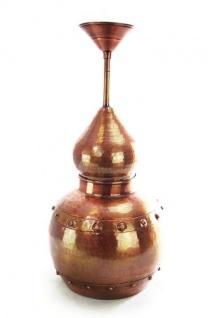 """"""" CopperGarden®"""" Hängelampe aus Kupfer, oxidiert - Vorschau 1"""