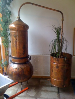 """"""" CopperGarden®"""" Dekodestille mit Kolonne 100 Liter"""