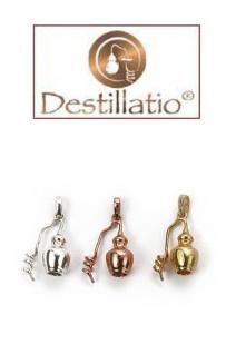 Schmuck Anhänger Destille, 925er Sterling Silber, vergoldet - Vorschau 5