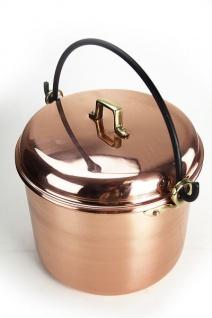 CopperGarden® Kupfertopf 12L, glatt mit Henkel - Vorschau 2