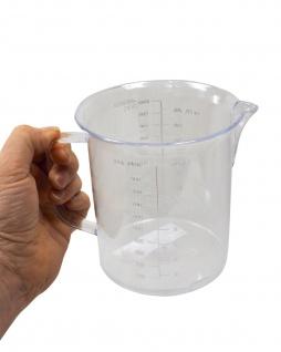 """Messbecher 1 Liter """" ECO"""" Lebensmittelecht"""