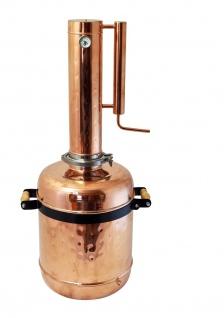 """"""" CopperGarden"""" Destille EASY MOONSHINE XL - 12 Liter - mit Thermometer - Vorschau 2"""